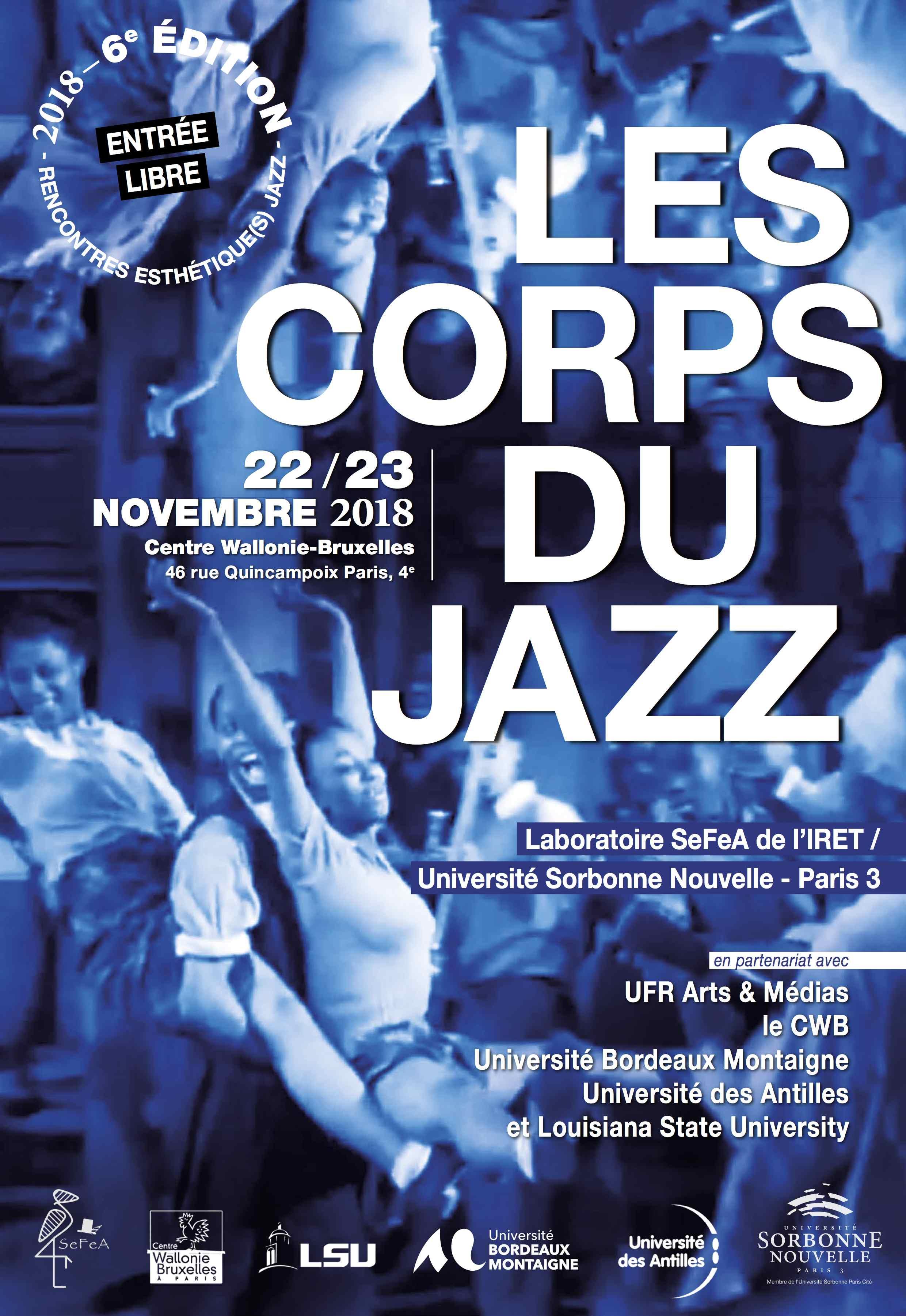 Les corps du jazz