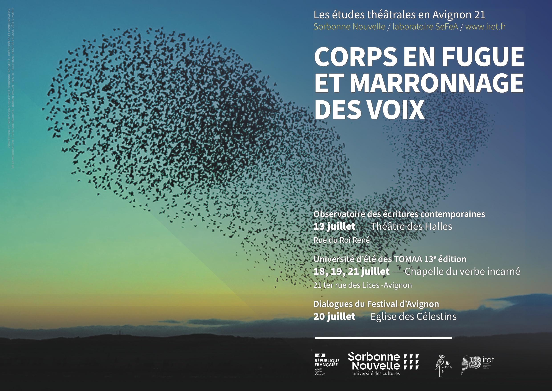 Les études théâtrales en Avignon 21